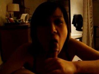 asian amateur blowjob and titfuck