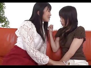 Japanese Lesbians (3 couples sharing more than the rent)A