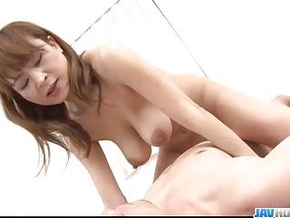 Japan wife, Hikaru Wakabayashi, devours hubbys cock