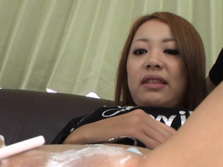 Japanese pet gets uncouth anal screwing after snatch shaving
