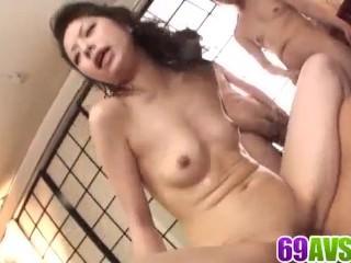 Top rates gangbang spectalc with Japan milf Hana