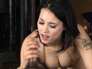 Oriental pussy fingered dimension she peduncle over in lingerie