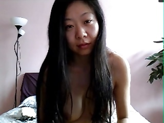 Sexy Chinese Wife above Skype 5