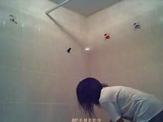 Singapore girl shower 1