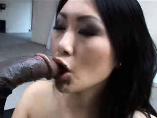Asian sexy lady Evelyn Lin takes a well-known baleful cock!
