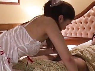 Japanese room scholarship blowjob