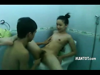 Leap asian talisman slut piss shower