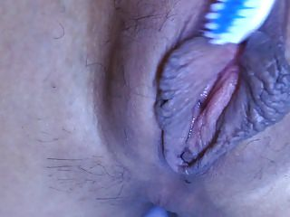 Japanese amateur close result as a be revealed teeth brush 2.