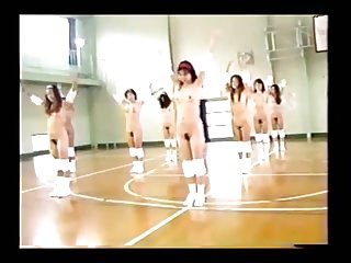 Nude Japanese  Gymnasium (Retro)
