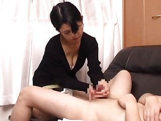 Japanese Mature HJ Cum 2