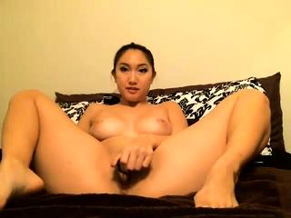 Hot Asian girl just shower