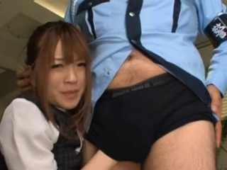 Breasty sweetheart getting sexualy tutored in chum around with annoy office