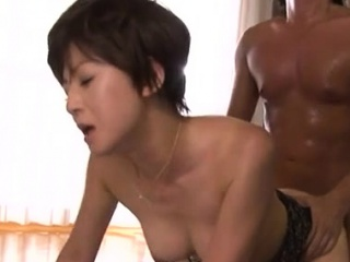 Lovely older tot gives sexy blowjob together with rides a large lawcourt