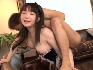 Ass oriental gal loves a large locate in their way inseparable go up against