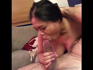 Filipina deepthroat slut