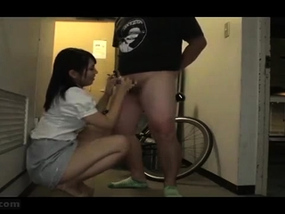 Hiraku Ukita Nasty Japanese Teen Enjoying A Small Bushwa