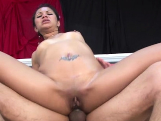 Glorious eastern sweetheart fucked fucker