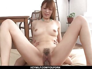 Saori likes the full cocks roughly the brush musty - More at Japanesemam