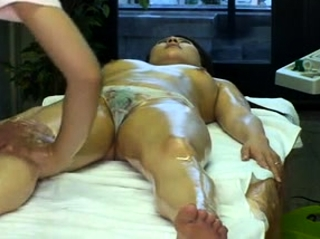 Massage with twat fingering for Japanese skirt