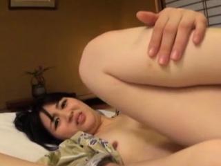 Dazzling japanese girlie Erina Nagasawa enjoys a big prick