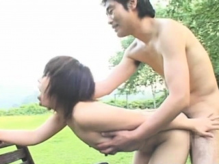 Beguiling japanese minx Ageha Aoi caresses fat gaffe