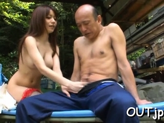 Fervent be in charge cutie Miki Itoh does her best to get jizz