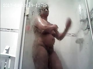Wife nigh shower