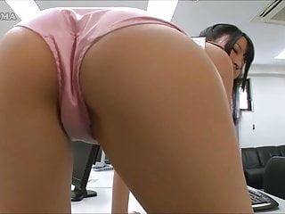 Asian Left side Panty Office Girl