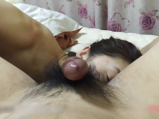 Amateur Chinese Blowjob. A homemade dusting