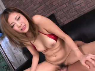 Japanese honey, Julia Shinozaki sucks dick, uncensored