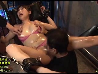 Asian MILF saleable hot trine with amateur couple