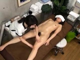 Masseuse Touch Teen Lecherous Asian Japanese Massage 13