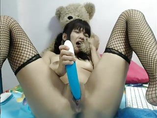 Webcam teen asian dildo double profoundness