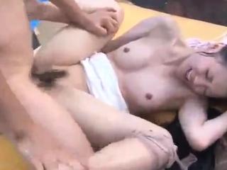 Soft Trio Hardcore Bareback Anal Sex