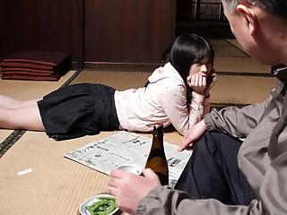 Mai Shimizu involving Mai Shimizu had a sexual experience with her nasty step- father - AviDolz