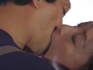 Japanese kissing - tongue kissing employ