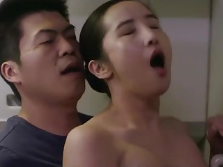 korean softcore heap hot sex with cute korea flight attendants