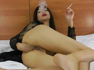 Smoking and anal fisting