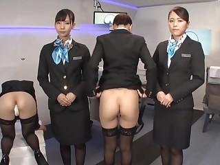Japanese Airline First Class Drink Service - AssCache High points