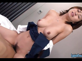 Jav Schoolgirl Rina Fucks Uncensored Broad in the beam Tits And Flabby Ass Cosplay Hardcore Excellent Amateur