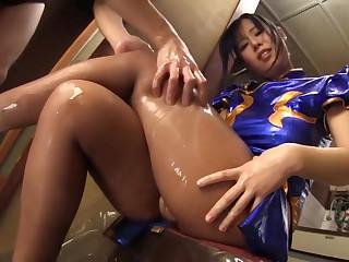 Chun Li Sexy Cosplay