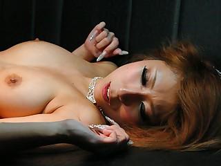 Haru Sakuraba with reference to Haru Sakuraba is fucked with reference to a nightclub threesome - AvidolZ