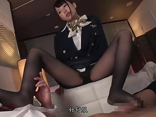 九重妹妹空姐足交 asian girl footjob