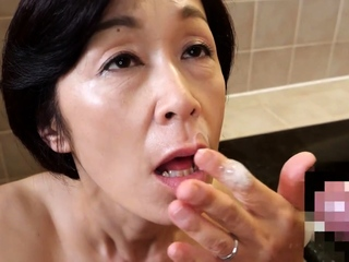 Masae Shimatani Mature Japanese Fingered And Fucked