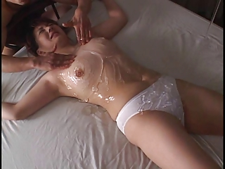 asian tied woman in panty gets played less