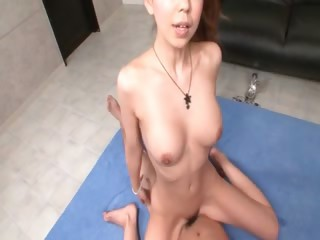 Splendid asian gets will not hear of pussy pleased with sexual connection toys