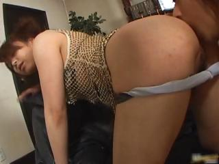 Japanese babe showing her skanky pussy part4